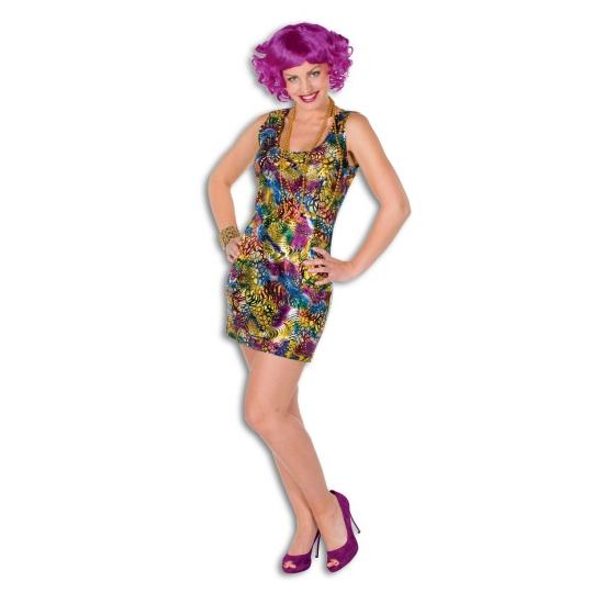 Sexy disco jurkje voor vrouwen