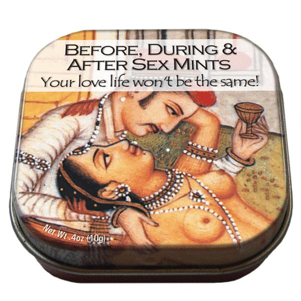 Blikje met pepermuntje sex mints