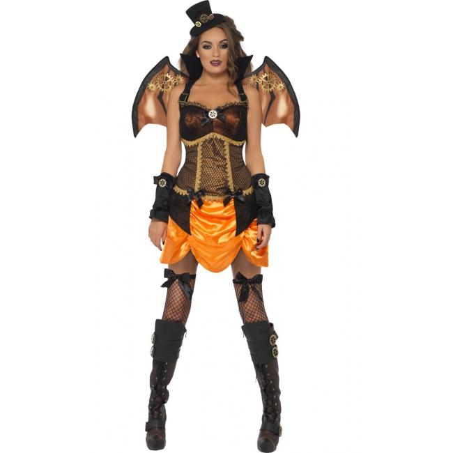 Sexy steampunk kostuum voor dames