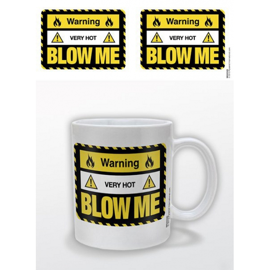Koffiemok sexy blow me
