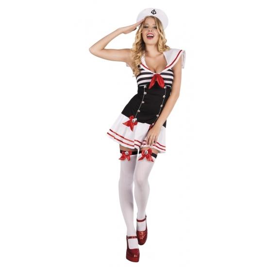 Sexy matrozen kostuum voor dames 10077959