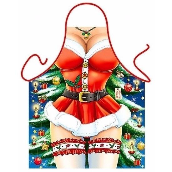 Keukenschort sexy kerst miss