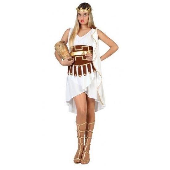 Sexy grieks romeins toga jurkje verkleedset voor dames