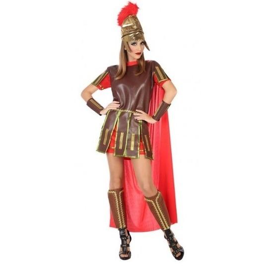Sexy romeinse gladiator felicia kostuum jurk voor dames